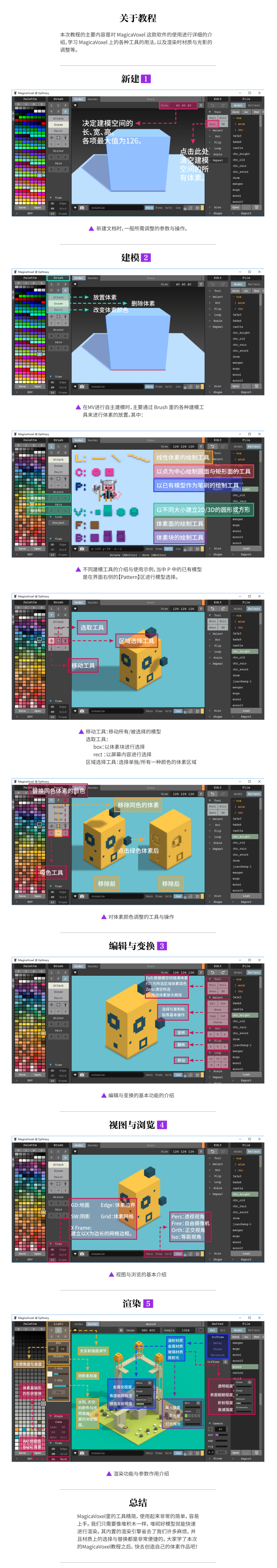 MagicaVoxel for Mac v0.99.4.2 像搭积木一样做3D场景-马克喵