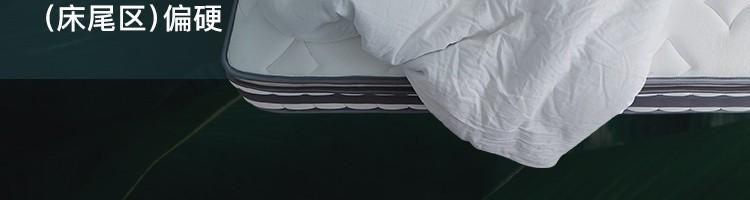 【送货上门】网易严选床垫 席梦思乳胶床垫软硬适中 AB面独立弹簧静音床垫 双面睡感软硬两用加厚床垫子 180*200cm【奢睡款】
