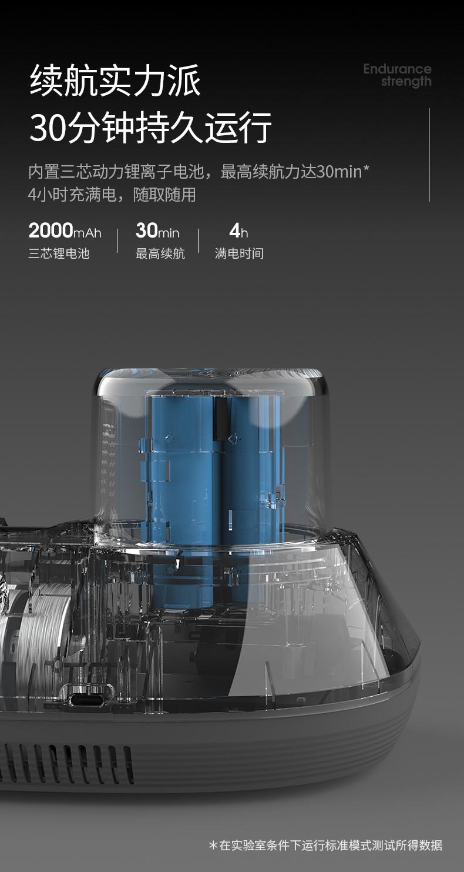 88560-摩飞电器 除螨仪手持无线 家用床上拍打除螨虫仪 紫外线杀菌小型吸尘除螨机器 MR3100-详情图