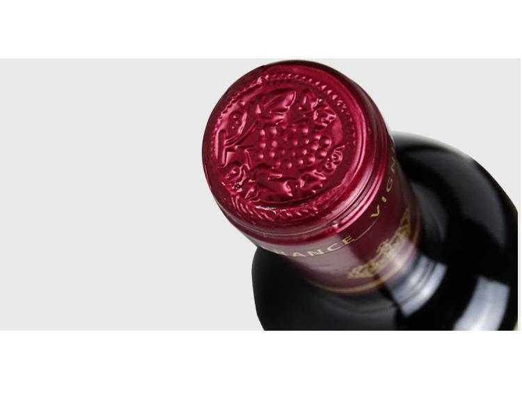 包邮法国原瓶进口红酒AOC级别科比埃产区卡