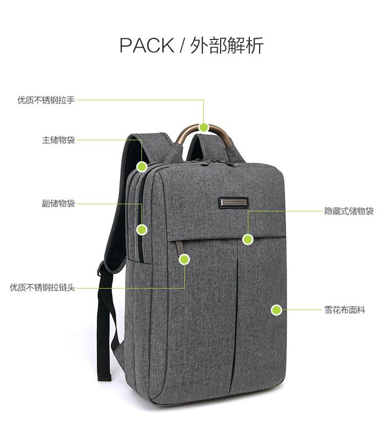 Balo laptop JIXINI SN-1518 - ảnh 7