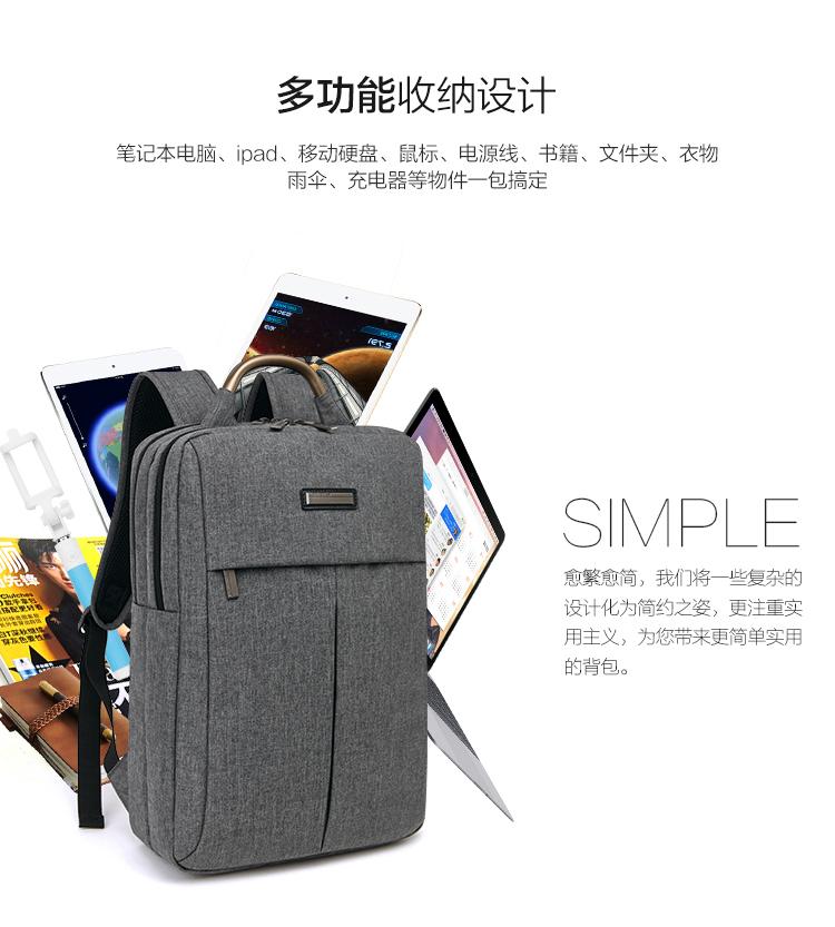 Balo laptop JIXINI SN-1518 - ảnh 9