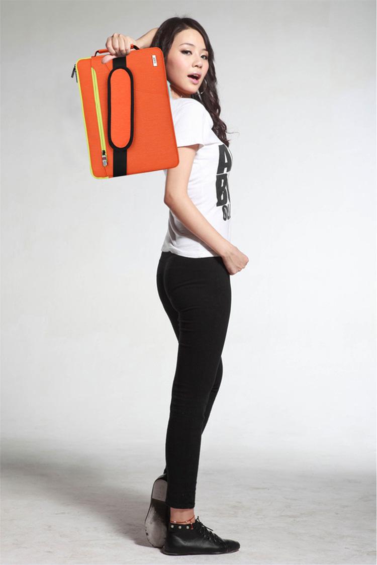 Túi chống sốc có quai dọc khoá pha màu bumb - ảnh 2