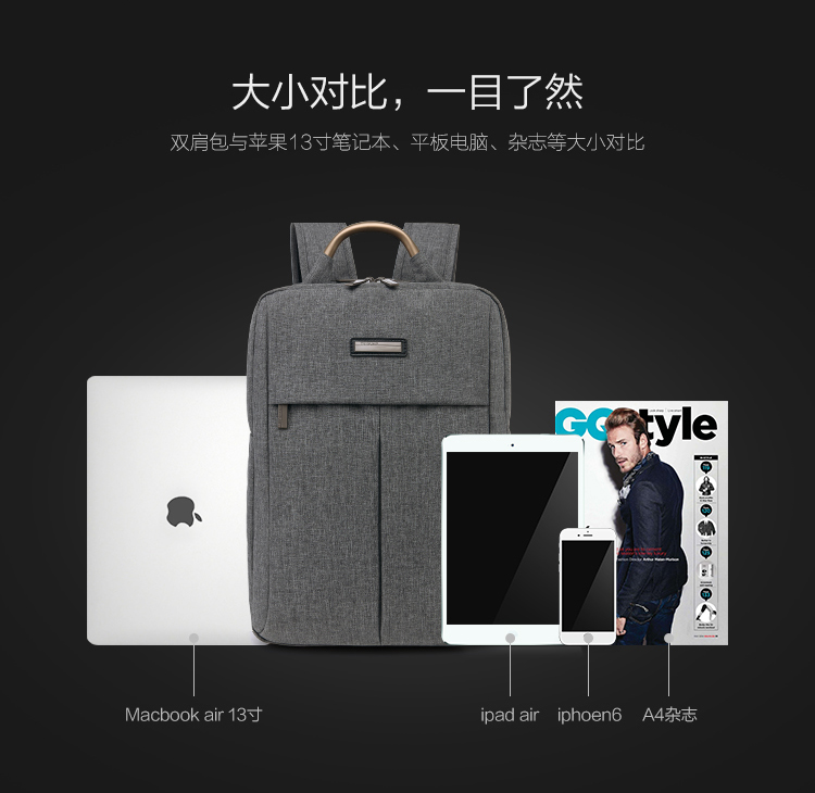 Balo laptop JIXINI SN-1518 - ảnh 5