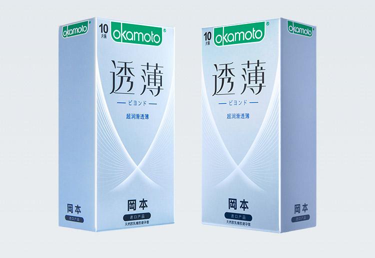 成人用品批发 日本冈本避孕套超薄安全套(超润滑透薄)避孕套10片装*12盒/组