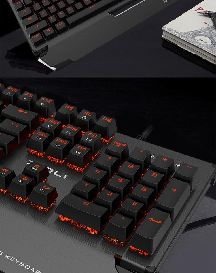 Bàn phím chơi game Z10001 - ảnh 2