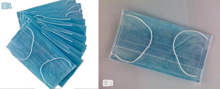 南飘安一次性使用口罩(100只装)a-3规格医用家用无纺布一次性口罩