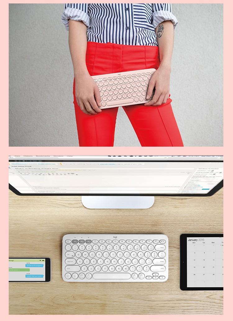 Bàn phím chơi game  LogitechK380surfaceipadMac K3802019 - ảnh 6