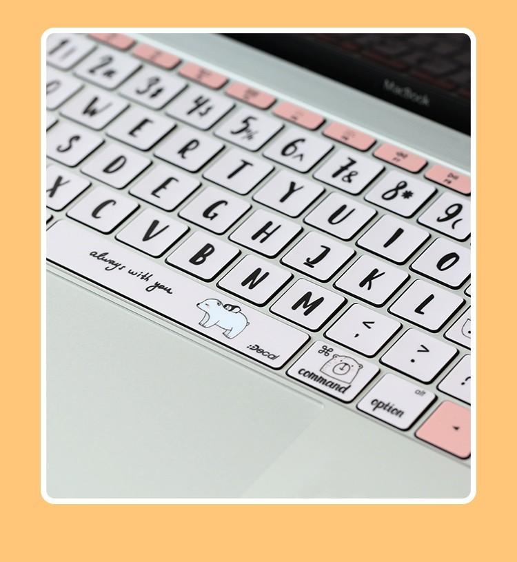Dán bàn phím cho macbook - ảnh 35