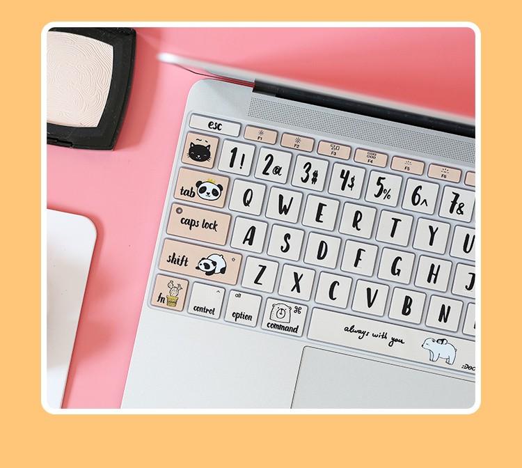 Dán bàn phím cho macbook - ảnh 17