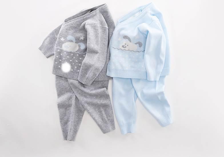 475cc42b21e4 Xinyi Baby Lace Sweater Newborn Knit Set 0-6 Months Baby Monk Dress ...