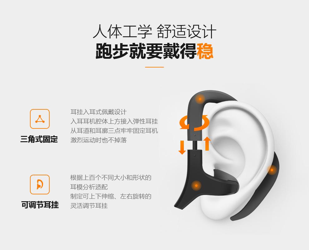 EHOOK 挂耳式耳机人体工学设计