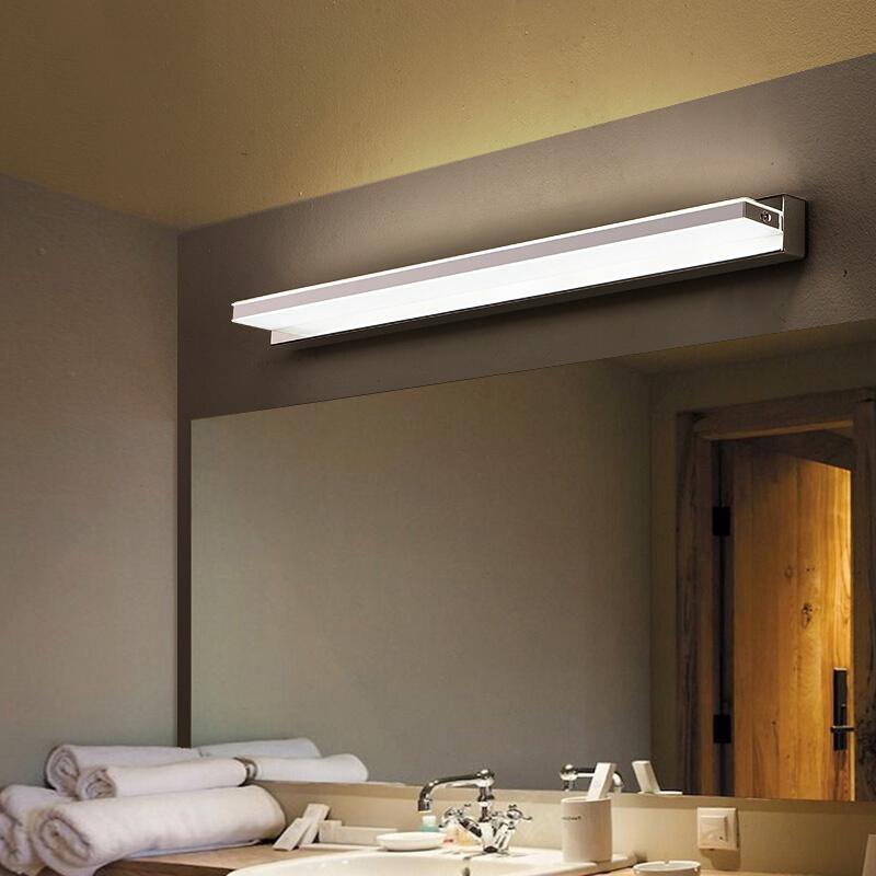 POG led mirror headlight bathroom lamp modern minimalist makeup ...