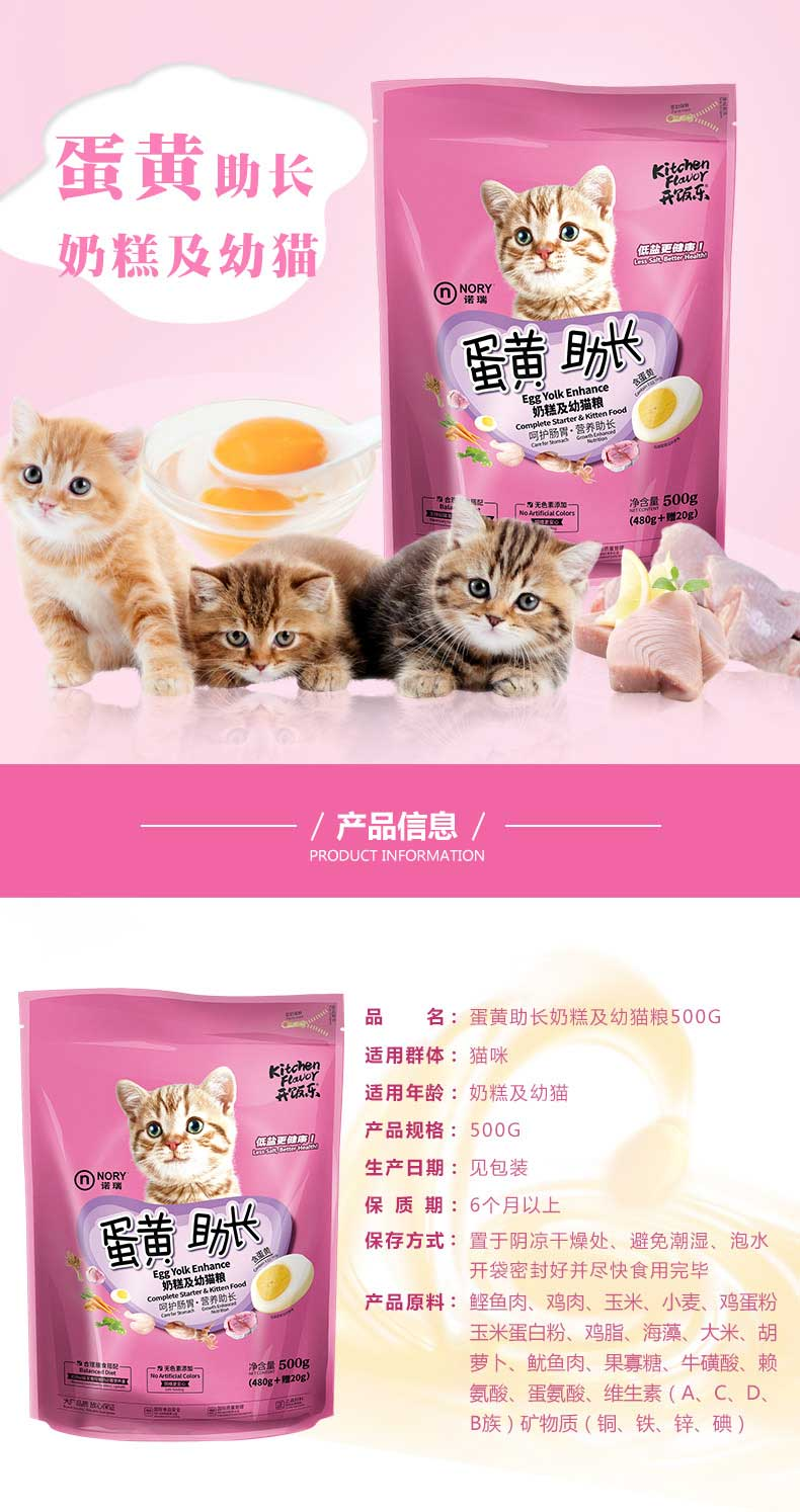 ... Nory Kitchen Flavor Cat Food Kitten. Source · Technical