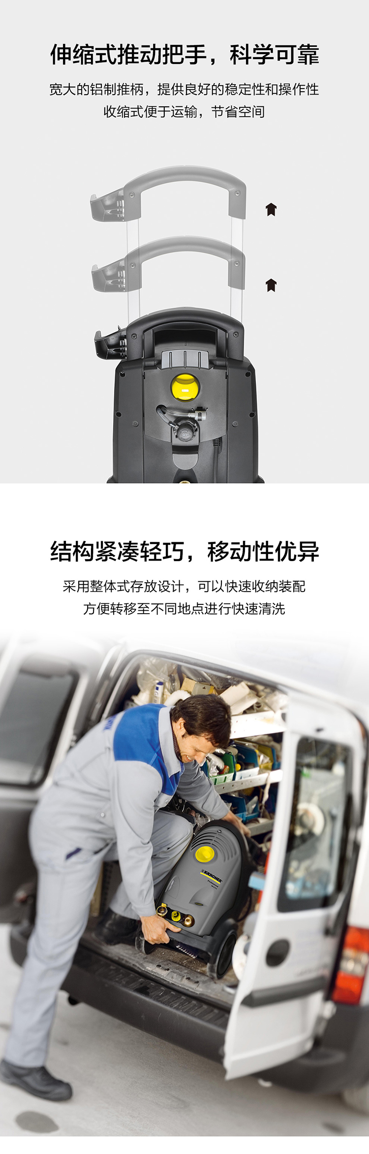 德国卡赫Karcher HD6/15C冷水高压清洗机