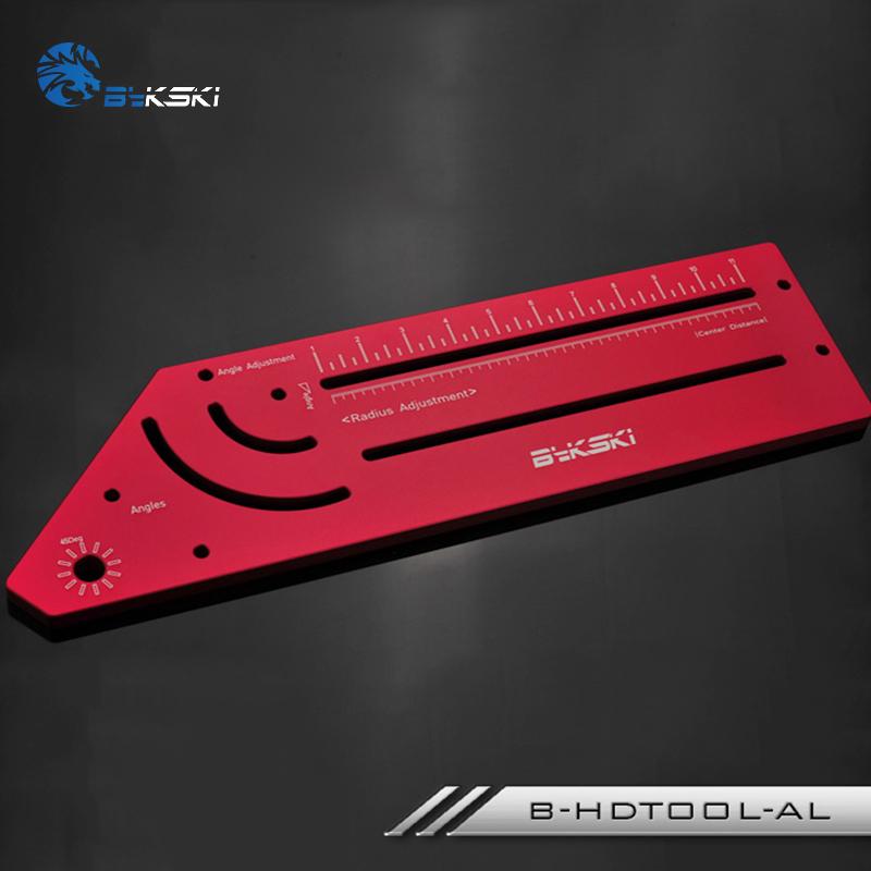 Bykski Rigid Tube Bending Tool - B-HDTOOL-AL Red 3
