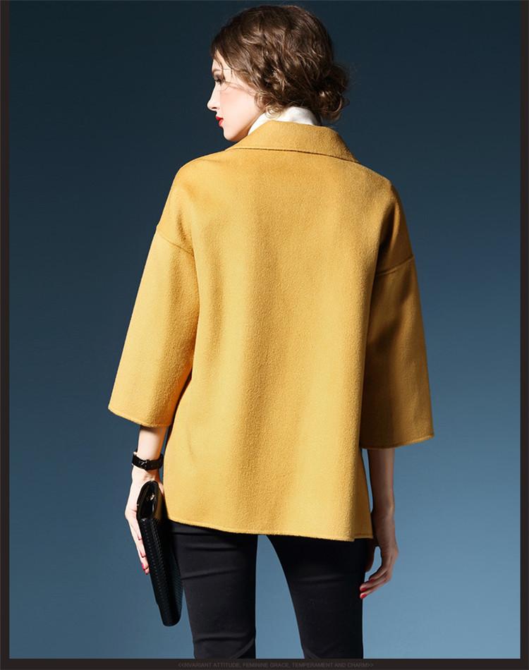 今年新款羊绒大衣_2015年冬季新款正品