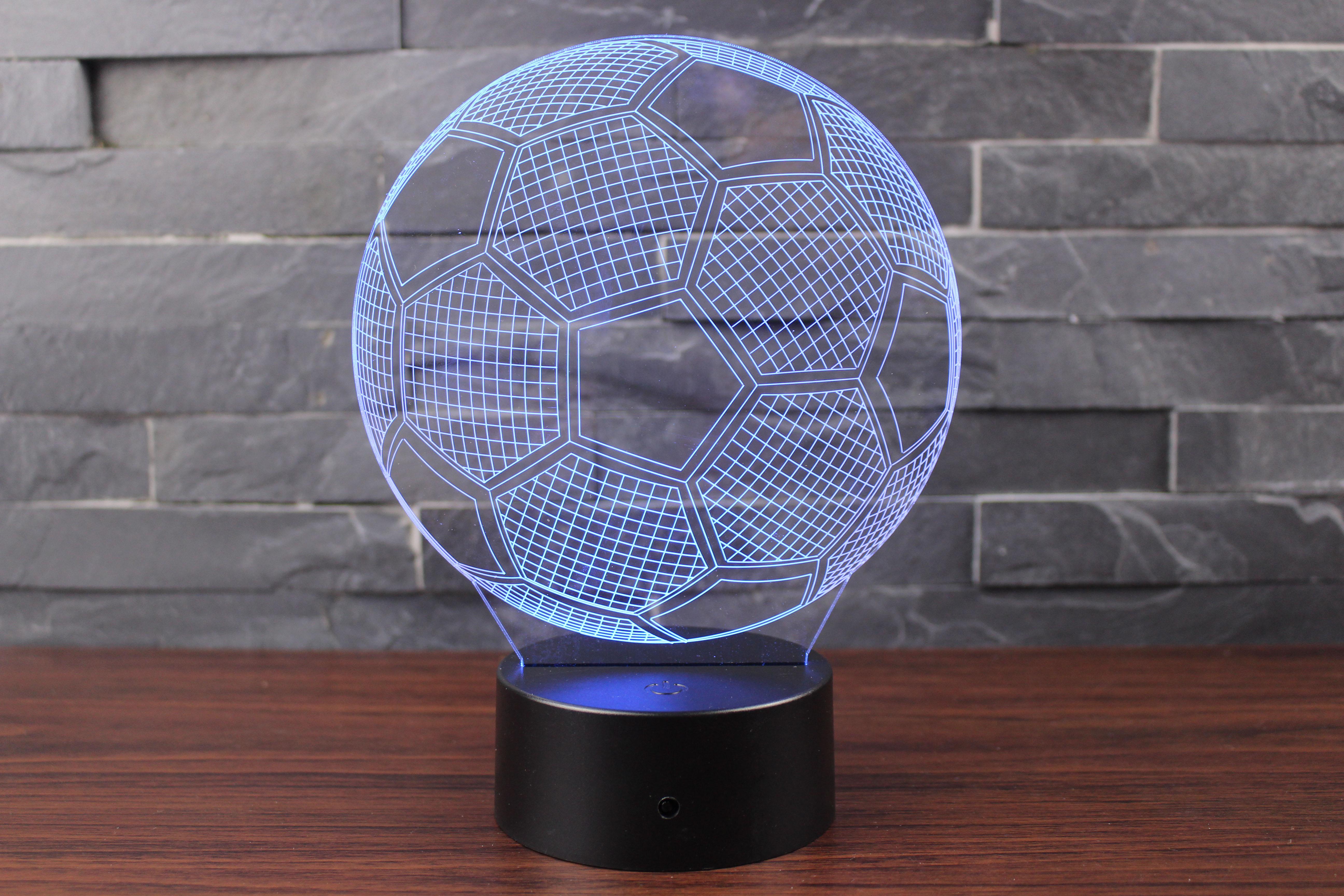 Stéréo De Football Créative Noyau Lampe Plume Avec 3d Même Thème Monde Cadeau La Led Qui Du Nuit Coupe Personnalité Tremble Le qVpSMGLUz