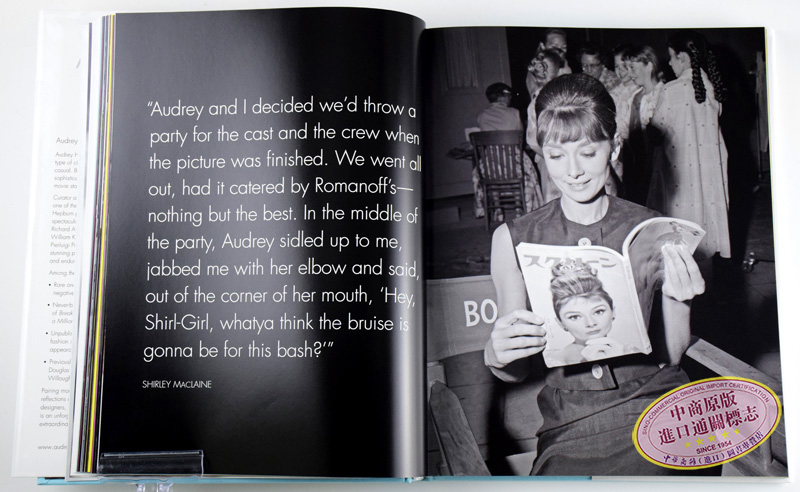 奥黛丽.赫本 画册 写真集 Audrey:The 60s