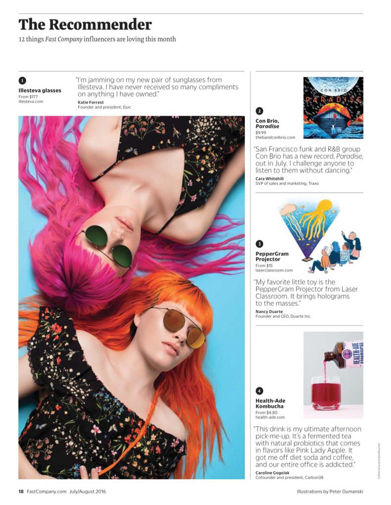 包邮全年订阅Fast Company快公司(US) 商业资讯杂志美国英文年订