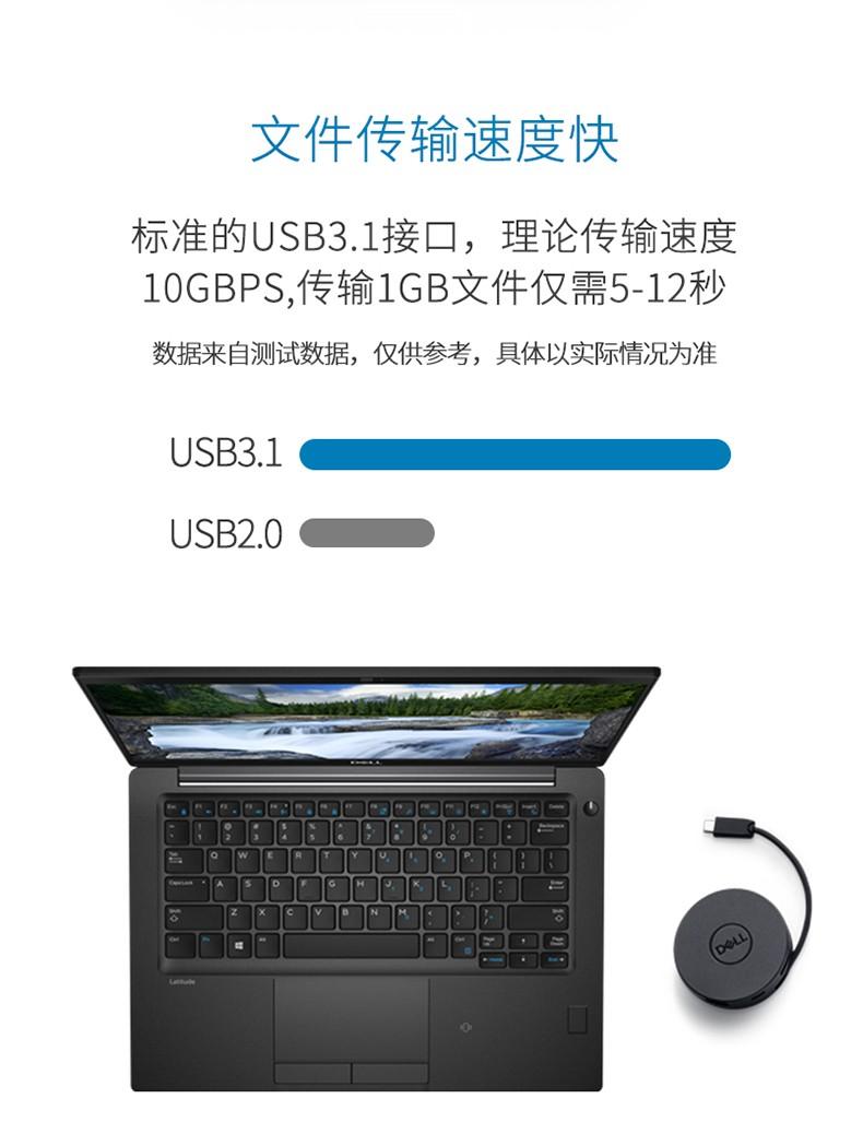 Cáp chuyển đổi  DELL USB C HDMIVGA30 DA200 type c - ảnh 10