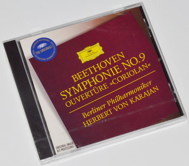 Symphonie n°9 en ré mineur op.125 ; Ouverture'Coriolan', op. 62