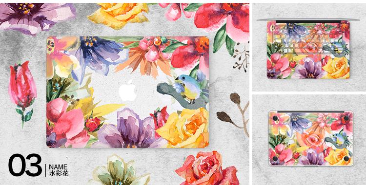Dán Macbook  SkinAT MacBook AirPro13 Pro 13 TouchBar2018 - ảnh 5