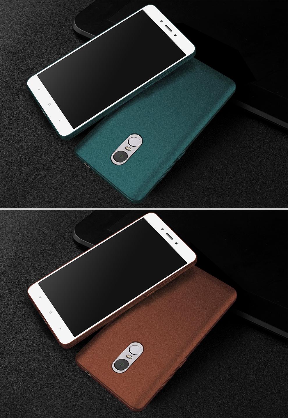 for xiaomi redmi note 4 luxury plastic hard phone back