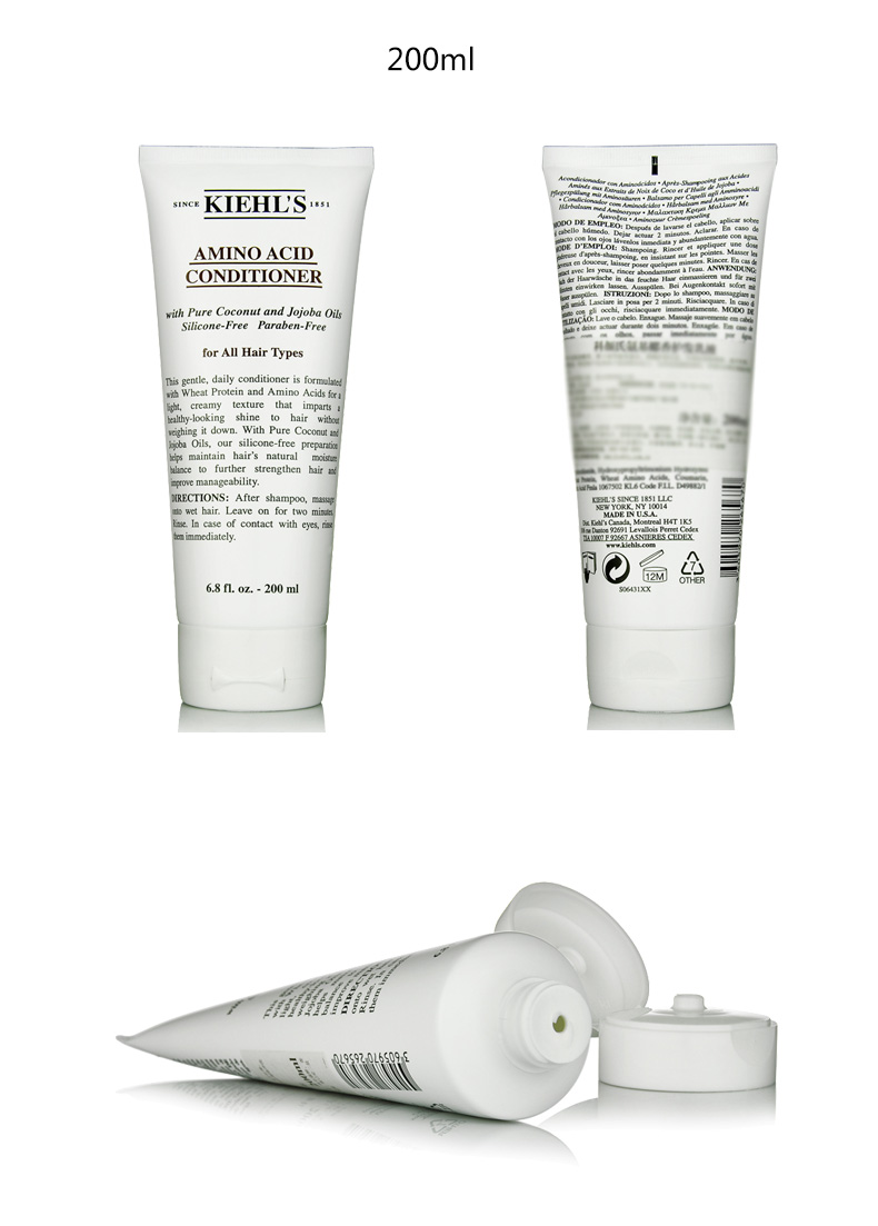 Kiehls Amino Acid Coconut Shampoo 500ml Conditioner Technical