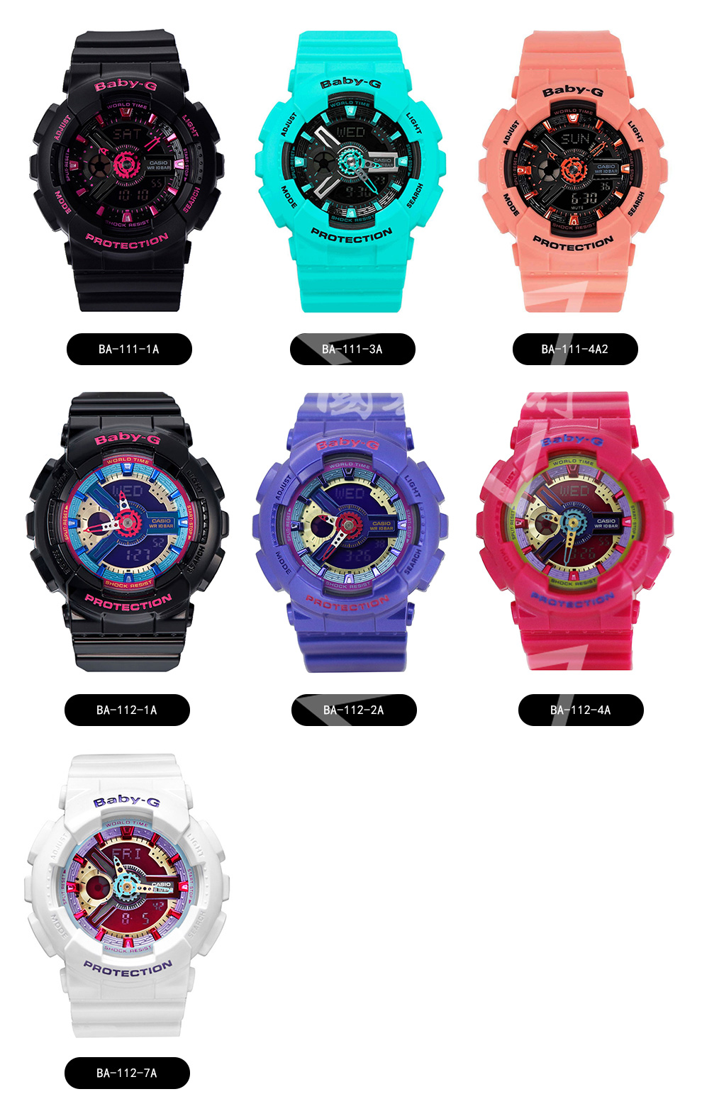 Unlimited Service Casio Watch Baby G Girls Generation Trend Ba 112 7a Technical