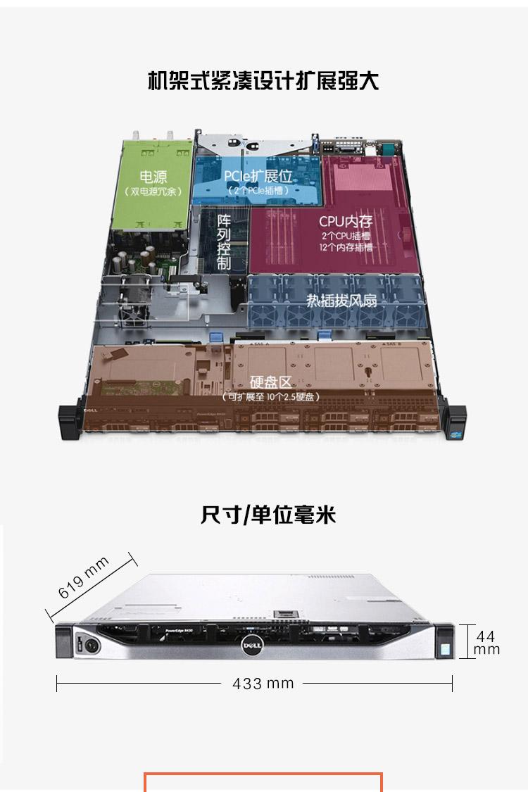 DELLR430服务器江苏总代戴尔服务器R430南京总代理,促销价格:8699!