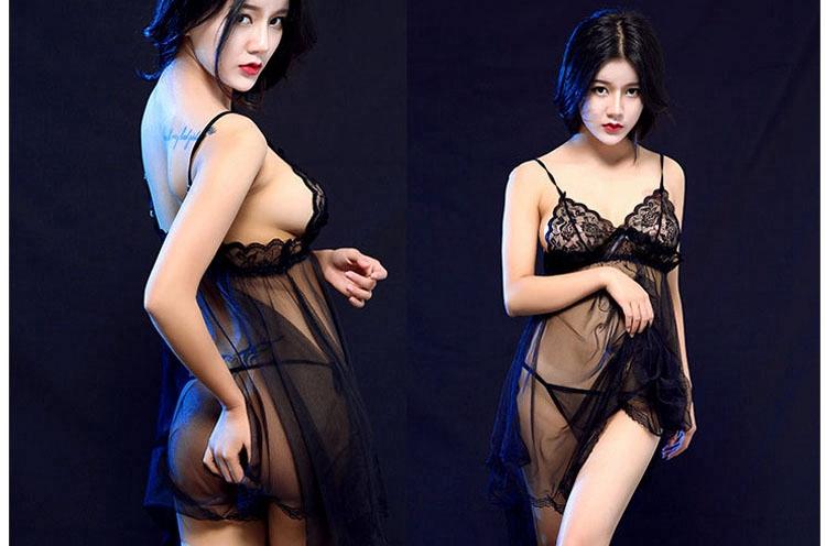 0b7003bc46e Explosive space sexy lingerie women s fashion simple bud silk screen ...