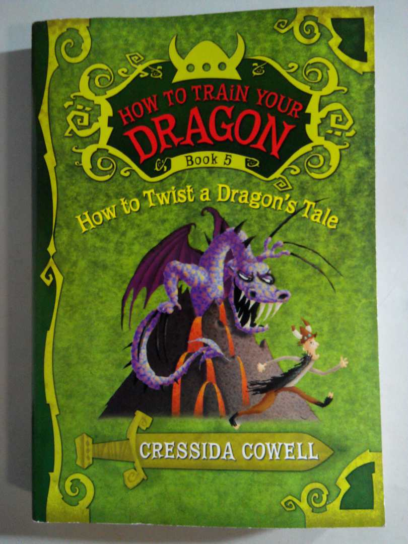 How to Train Your Dragon Book 5: How to Twist a Dragon's Tale  驯龙高手5 实拍图