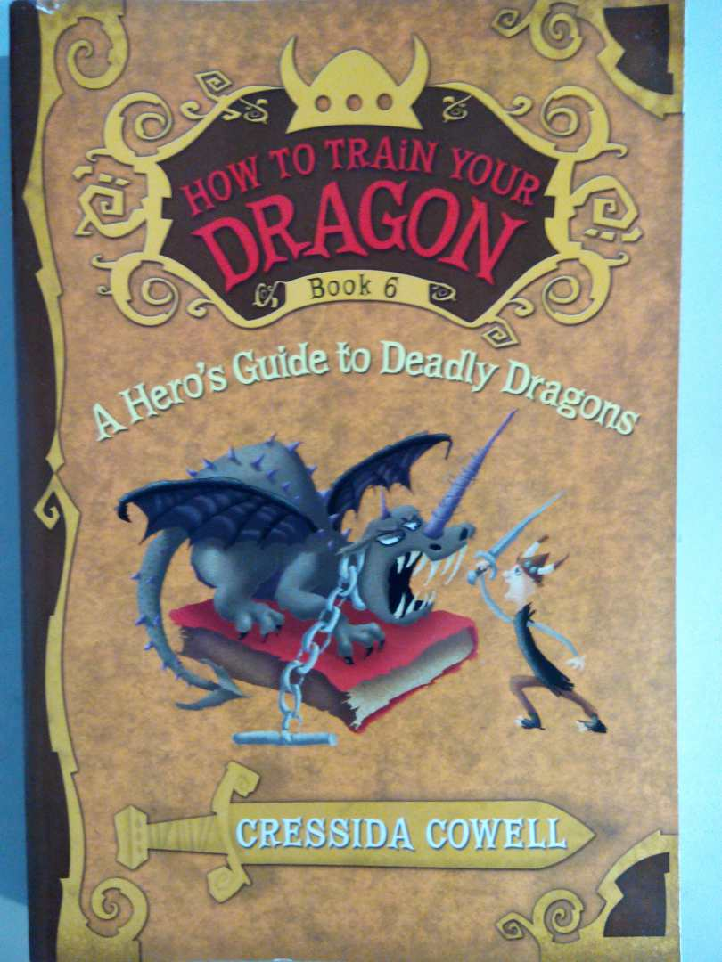 How to Train Your Dragon Book 6: A Hero's Guide to Deadly Dragons  驯龙高手6 实拍图