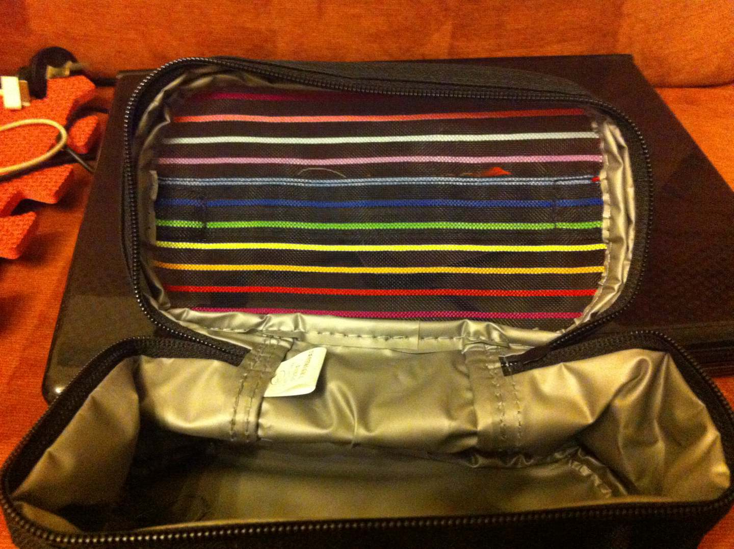 black leather purse 00222587 bags