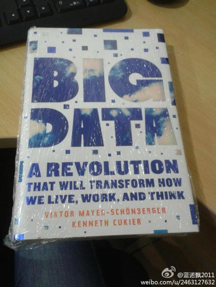 Big Data: A Revolution That Will Transform How We Live, Work, and Think大数据时代 英文原版 实拍图