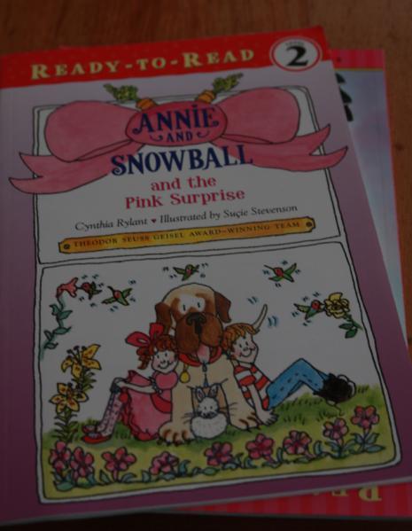 Annie and Snowball and the Pink Surprise 英文原版 晒单实拍图