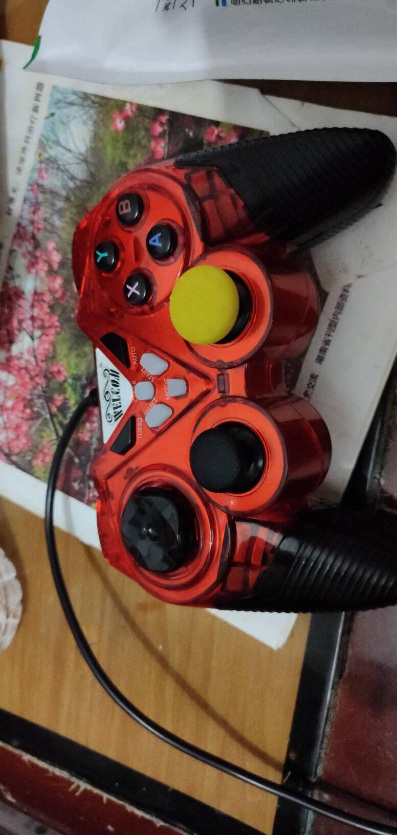 welcom游戏手柄电脑PC安卓电视Xbox360精英PS3有线FIFA赛博朋克NBA2K双打震动黑色【升级版】