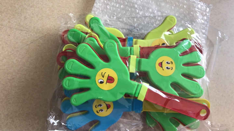 青苇拍拍手手掌拍鼓掌器活动派对生日聚会演唱会公司年会活动道具大号10个装