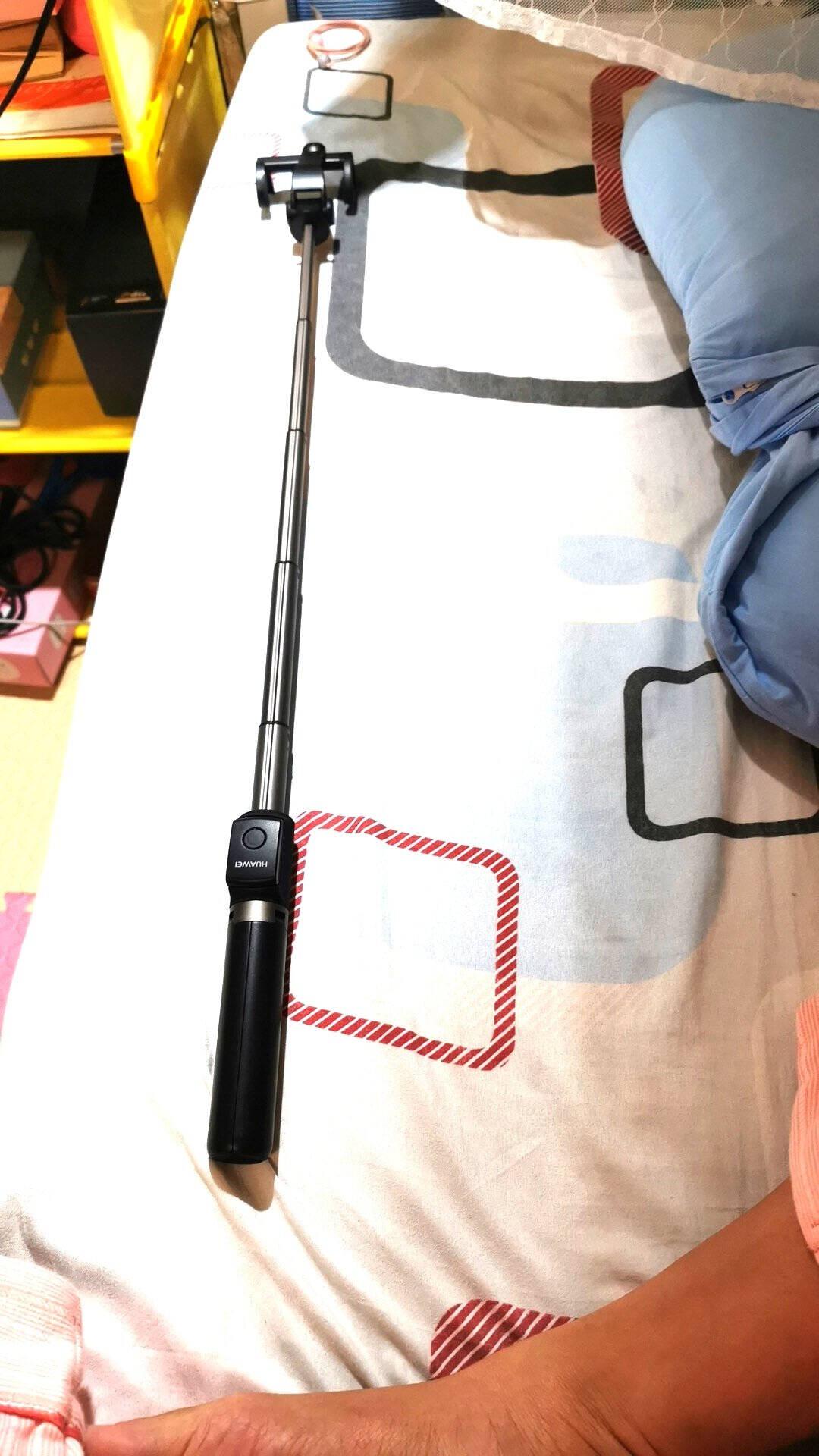 华为自拍杆三脚架手机抖音直播支架设备防抖蓝牙拍照多功能自拍神器桌面落地三角架子小米苹果荣耀安卓通用黑【新升级自拍杆Pro】远程变焦丨四键遥控-原装