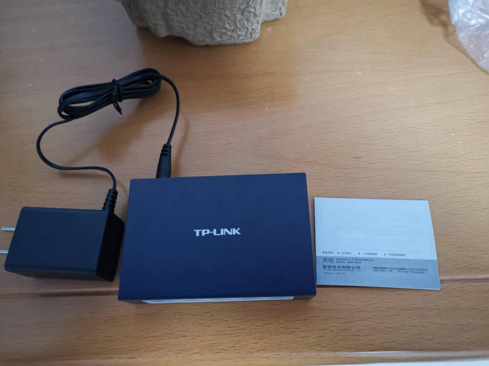TP-LINK5口百兆交换机4口监控网络网线分线器分流器金属机身TL-SF1005D