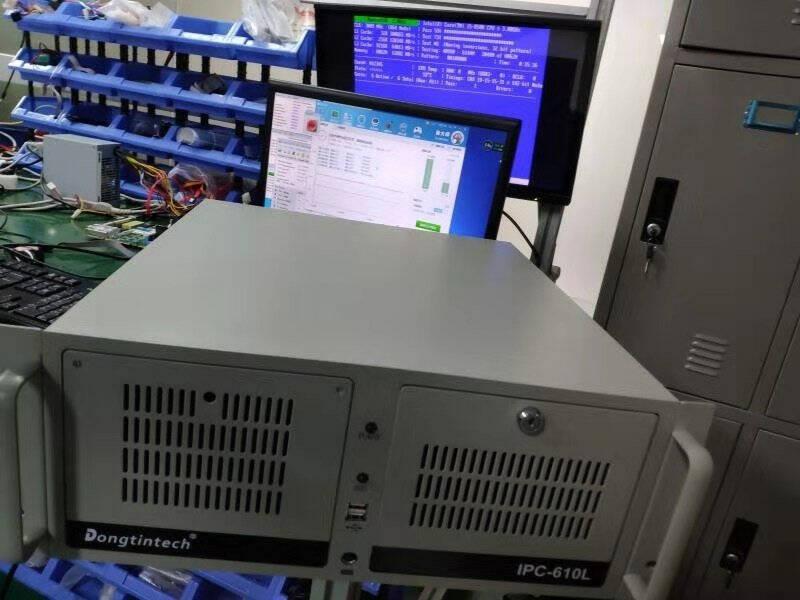 Dongtintech东田酷睿3代工控机兼容研华2个485串口5个PCI服务器主机工业电脑JH61MAI/I3-3240(3.4GHz)4G/1T/无DVD/300W