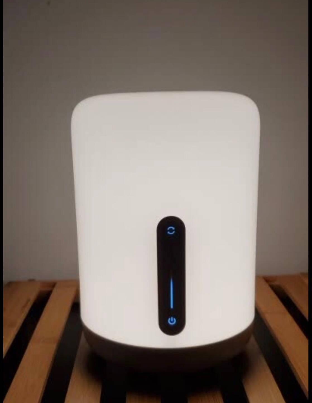小米米家床头灯2智能台灯卧室炫彩柔光小夜灯节日创意礼品礼物通体发光多种语音控制