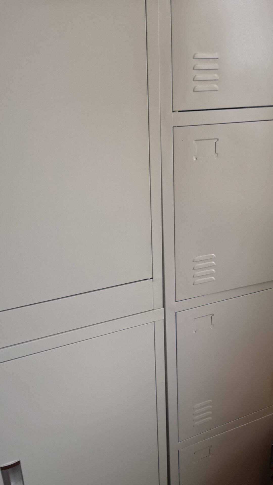 钢制加厚办公文件柜铁皮柜子档案柜凭证柜办公柜办公室抽斗带锁资料柜储物柜文件柜中二斗铁门柜经济款