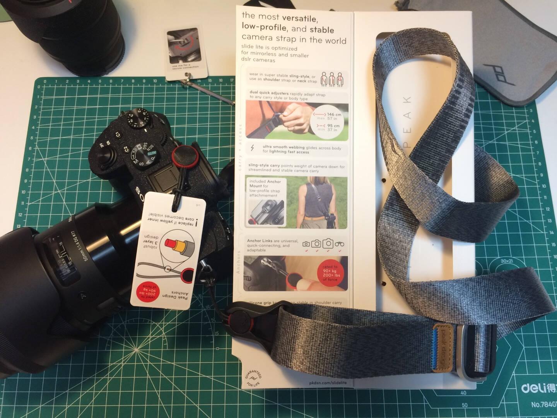 巅峰设计PeakDesignSlideliteV2单反微单相机背带单反肩带SlideLiteV2(黑-京JD东快递)