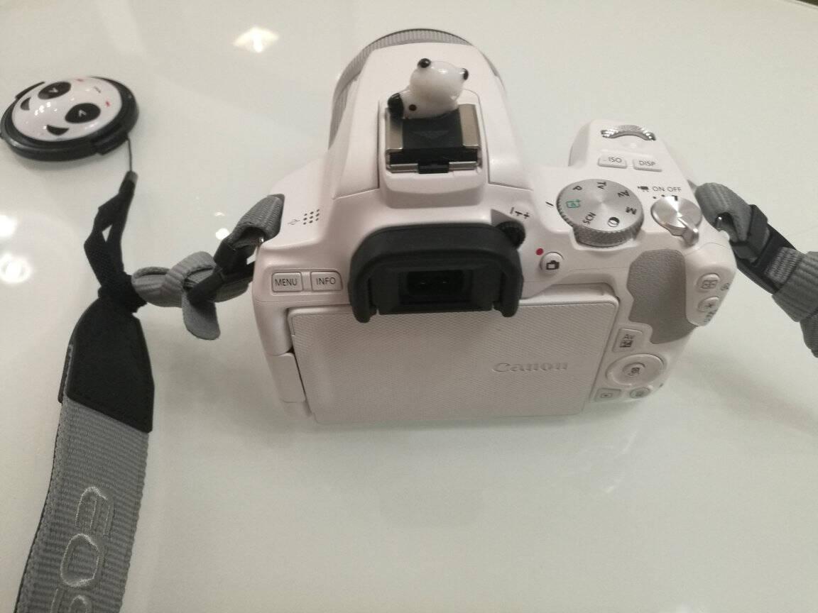 佳能200D二代2ii单反相机入门级eos迷你数码旅游学生款vlog照相机白色基础配件套餐