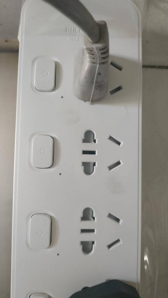 公牛(BULL)插座/插线板/插排/排插/接线板/拖线板8位总控全长5米GN-B3440