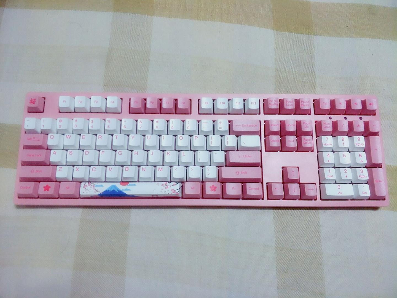 Akko 3108 V2机械键盘,送女生礼物,还能满足老夫少女心
