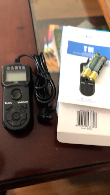 JJCTC-80N3佳能定时快门线遥控单反相机5DSR5D47D6D21DX3EOSR5