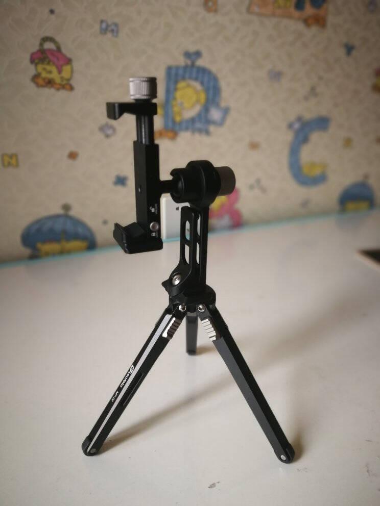 徕图lefotoPC-90Ⅱ+PS-1套装底部雅佳燕尾槽设计的手机摄影夹二代手机夹配件PS-1(单手机支架)